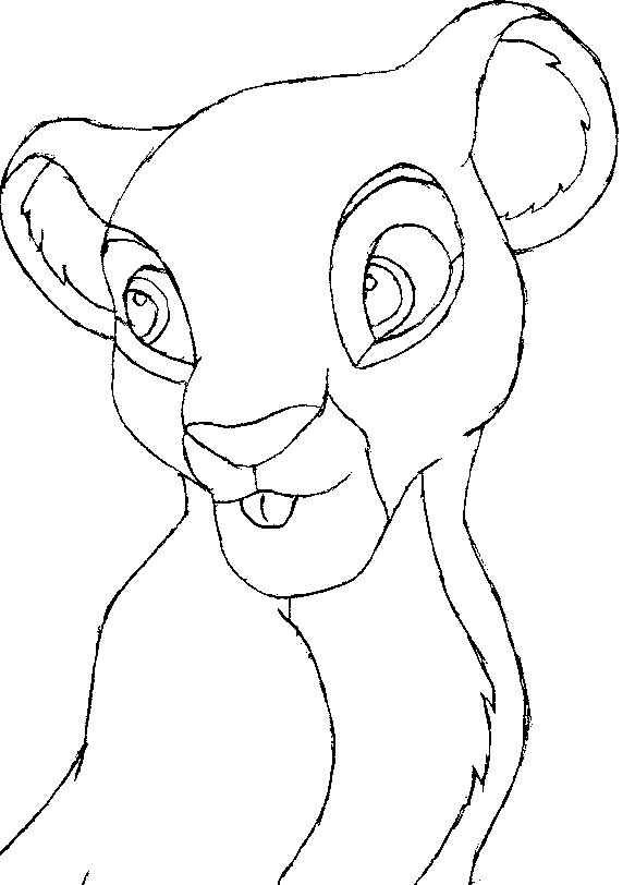 Lion Cub Outline By Peterpandagirl On Deviantart Please pause the how to draw a lion cub video after each step to draw at your own pace. lion cub outline by peterpandagirl on