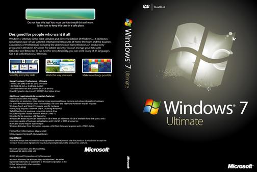 Ключ активации Windows 7 Ultimate (x32-x64)