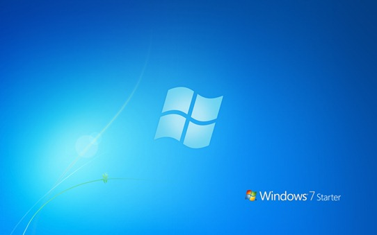 Windows 7 Starter - Wallpaper by taimurasad
