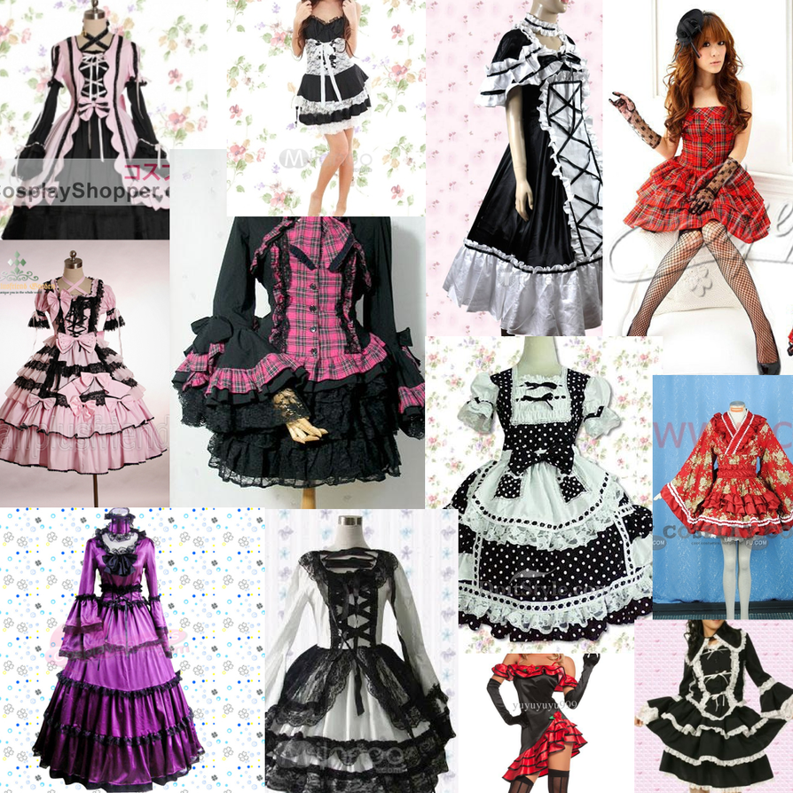 Ginger's Guide to drawing Lolita by who-dat-betch on DeviantArt Ugly Dresses