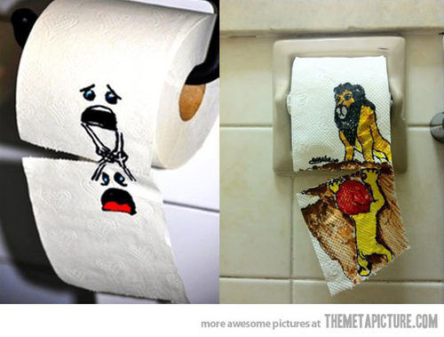 Toilet-Paper-Art by RisenDork
