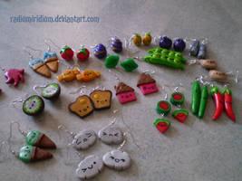 Earrings by RadiumIridium
