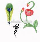 Bishamons tattoos by RadiumIridium