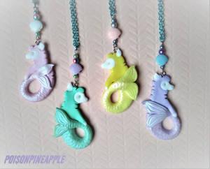 Merpaca necklaces