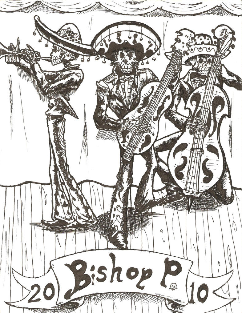 Mariachi Band Drawing Mariachi