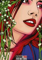 Gabrielle Lupin 5 by KHUANTRU