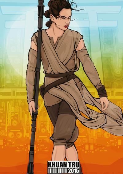Daisy Ridley 3 by KHUANTRU