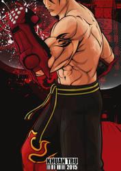 Jin Kazama 4 by KHUANTRU