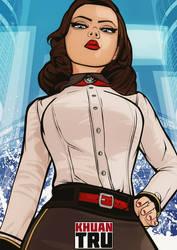 Elizabeth Bioshock 1 by KHUANTRU