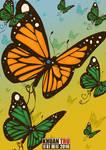 Morning Butterfly by KHUANTRU