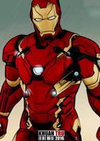 Iron Man Civil War by KHUANTRU