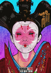 Ghost In The Shell by KHUANTRU