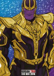 Thanos by KHUANTRU