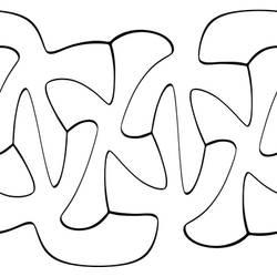 Brazuca black and white texture