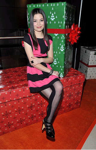 Miranda Cosgrove on presents by FreakboyInc41