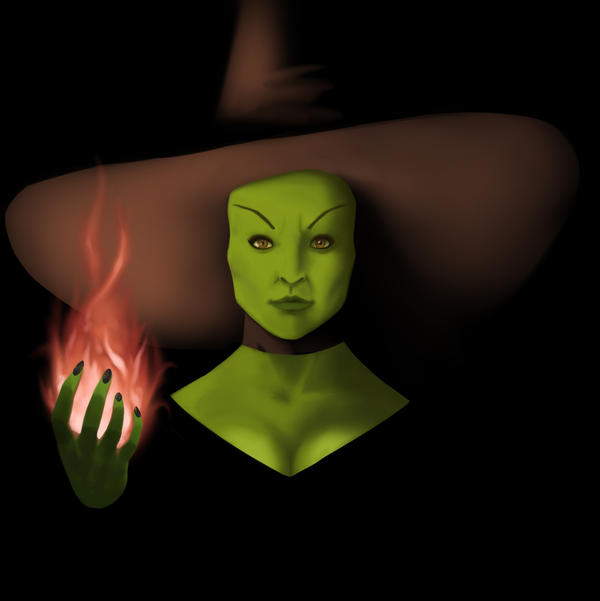 Wicked Witch Drawings Wicked Witch by Pgmb