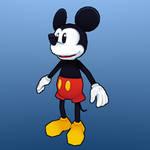 Mickey Old School