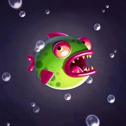 Stupid Fish by madPXL