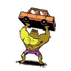 Hulk by madPXL