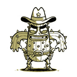Cactus Cowboy by madPXL