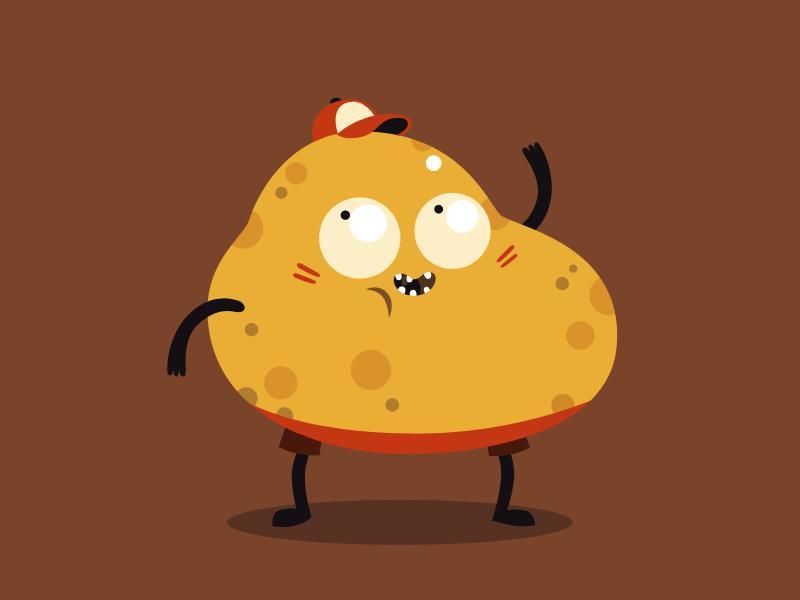madPXL yellow potato by madPXL