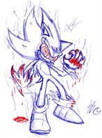 Crazy Super Sonic by Auroblaze