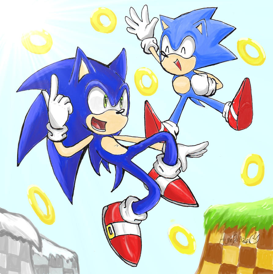 Sonic Generations by Auroblaze