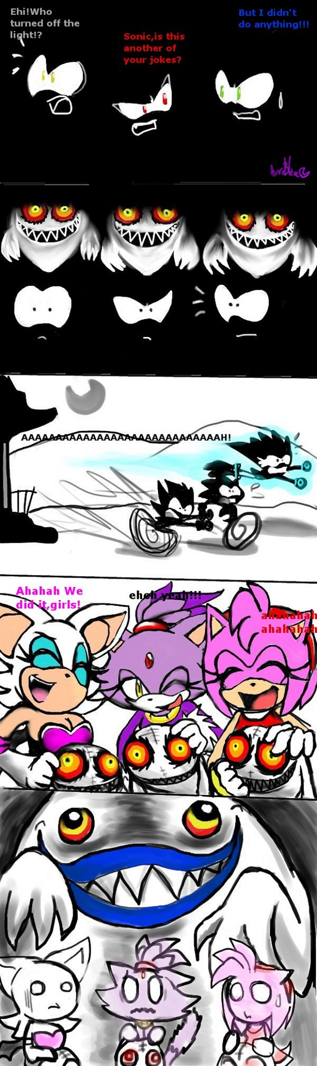 Late Halloween Sonic Comic by Auroblaze