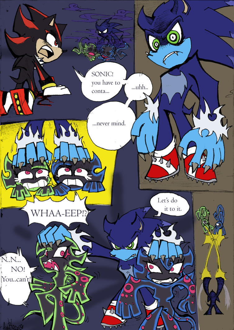 Coloured!Sonic PSG Style sketch comic pg 2 by Auroblaze on