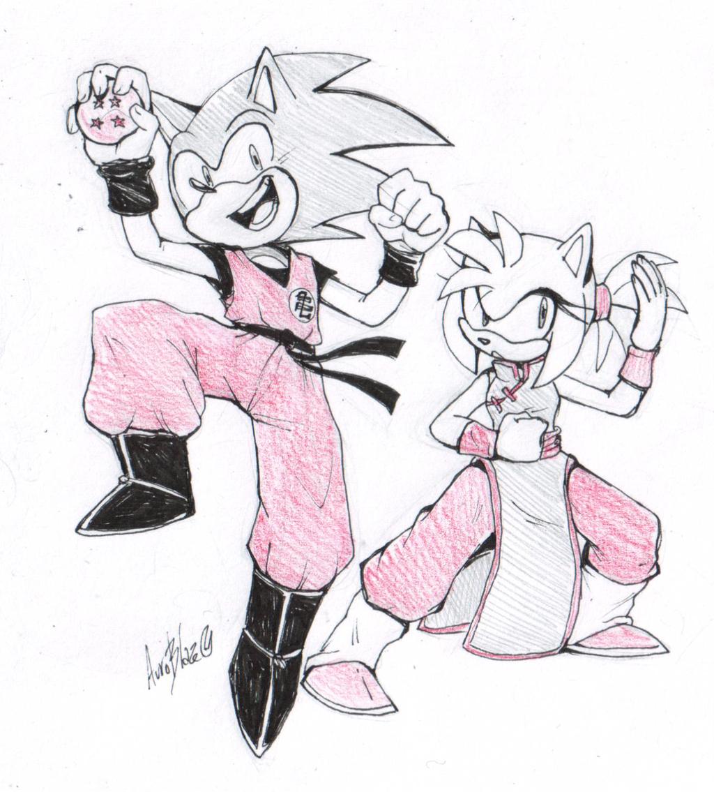 Gotta fight fast - quick doodle by Auroblaze
