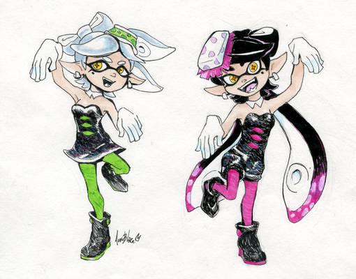 Splatoon: Squid Sisters