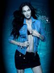 Cyber Megan Fox - PhotoManipulation