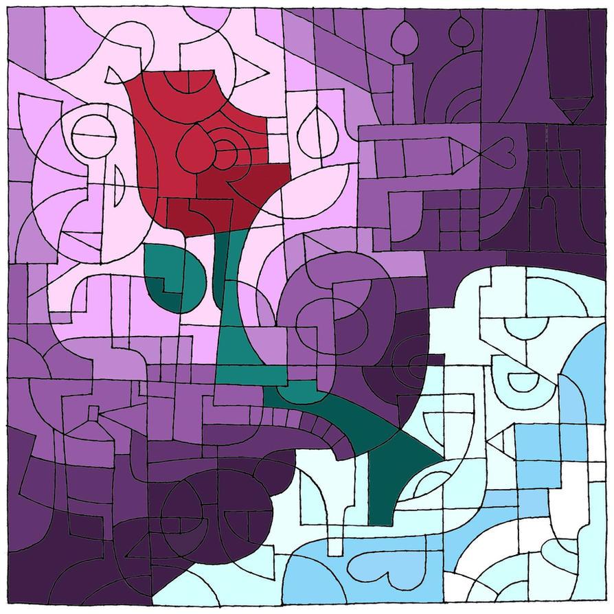 dA Rose by Petrotasia