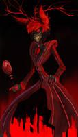 Alastor in red