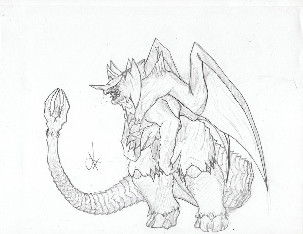 Godzilla 2016 or 2017?!? (destroyah muto) by kamakoa09 on ...