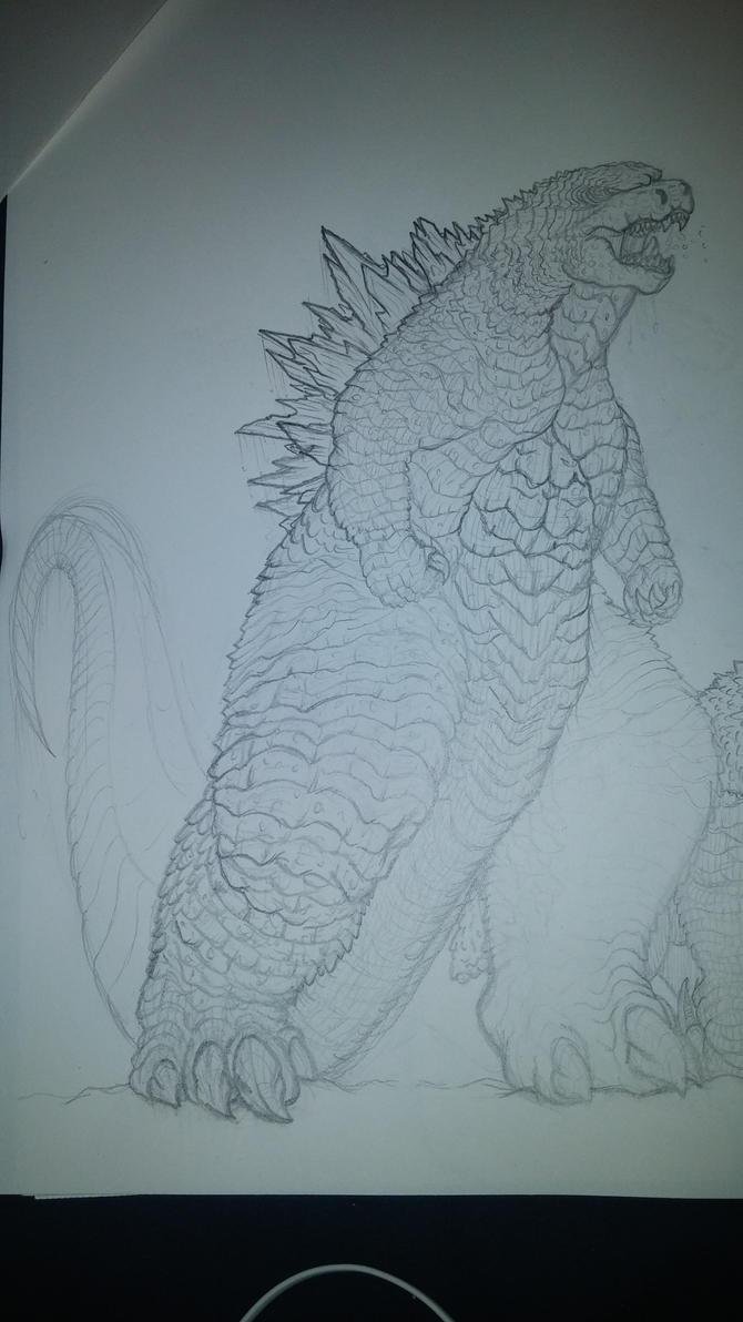 Gmk Godzilla by kamakoa09