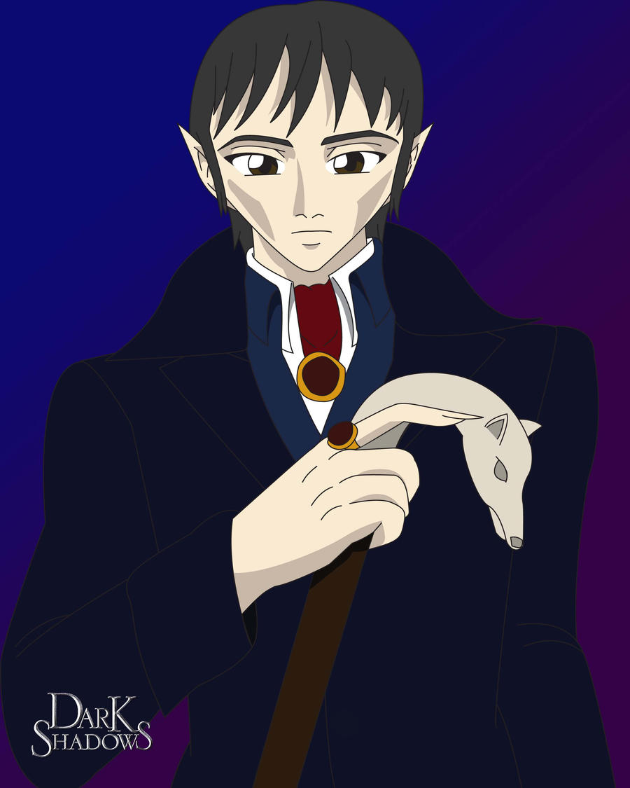 Barnabus Collins (Anime style by LaurenNightshade