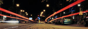 Amsterdam at Night - Overtoom by sndr