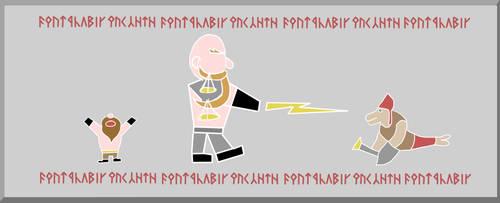 SketchDaily - August 16th - Gods by dwarfcomic