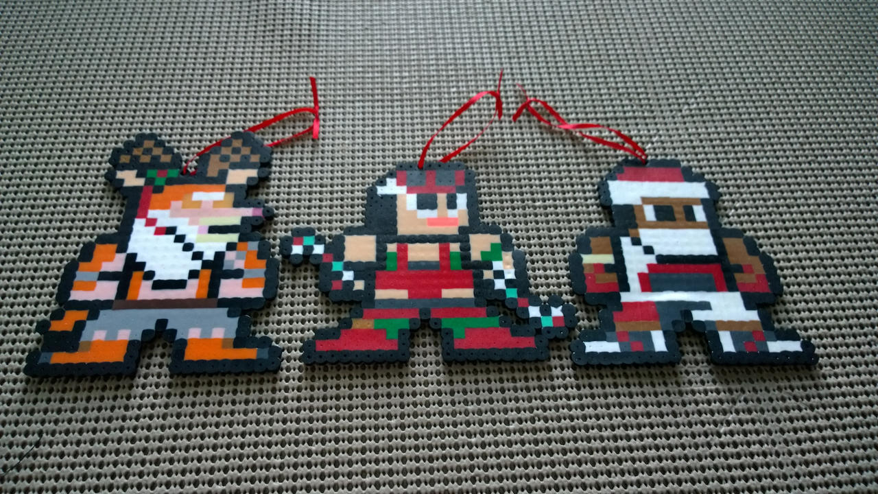 Killer Instinct Perler: Holiday Special by Artist-Omega