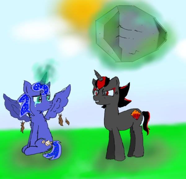 Sonic and Shadow are now ponies by Dorhy101 on DeviantArt