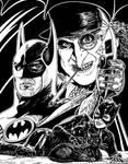 Batman Returns Illo - 1992