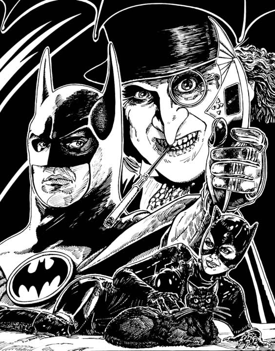 Batman Returns Illo