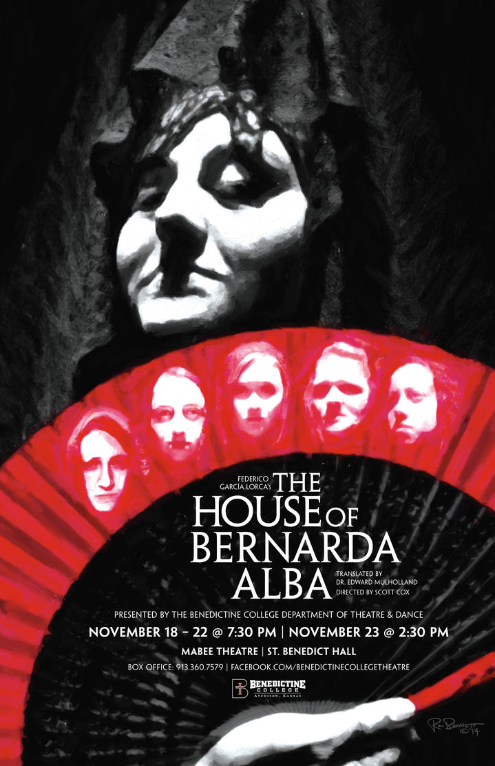 The House of Bernarda Alba Play Poster by BigGuido