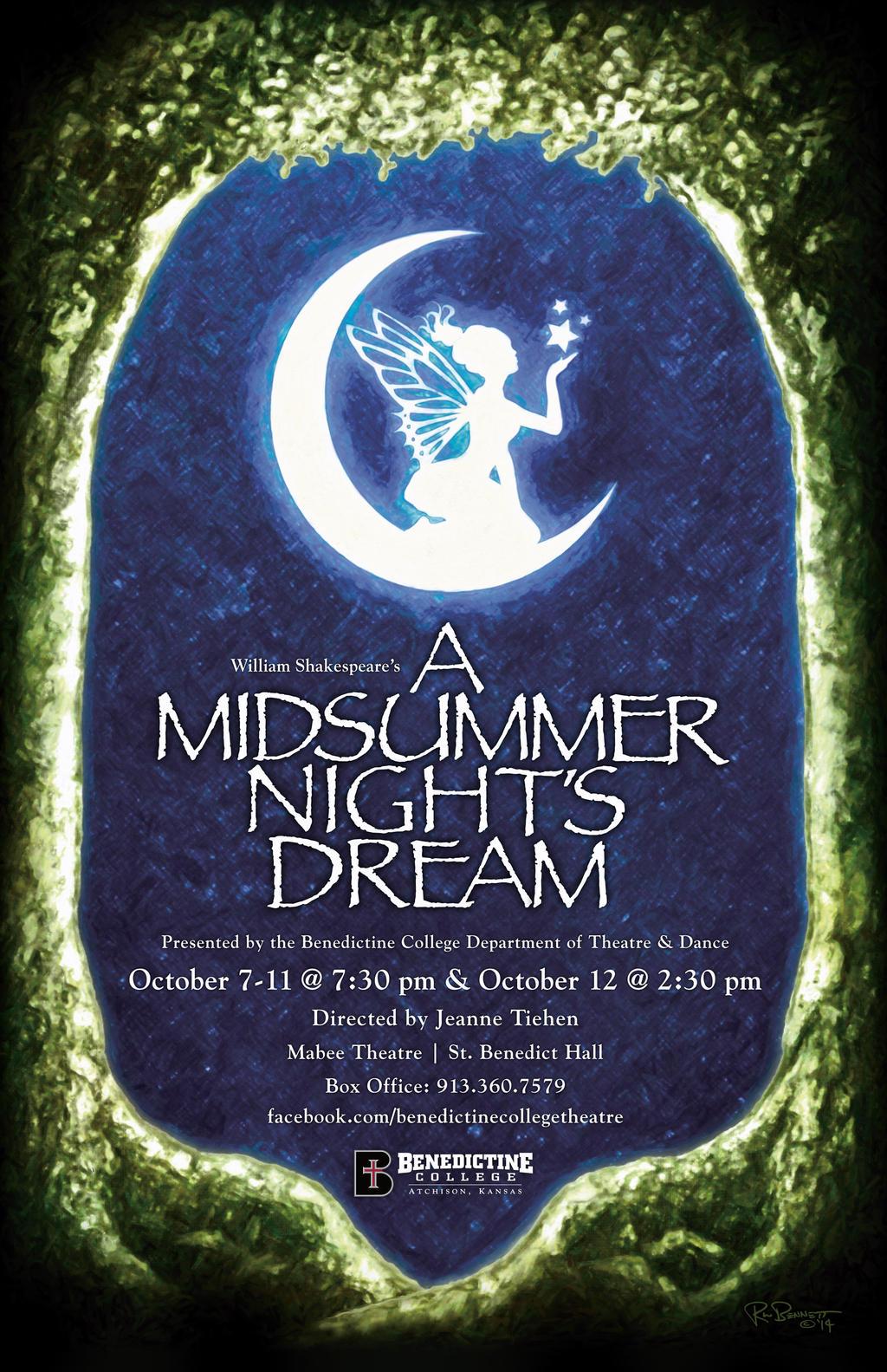A Midsummer Night's Dream Poster by BigGuido on DeviantArt