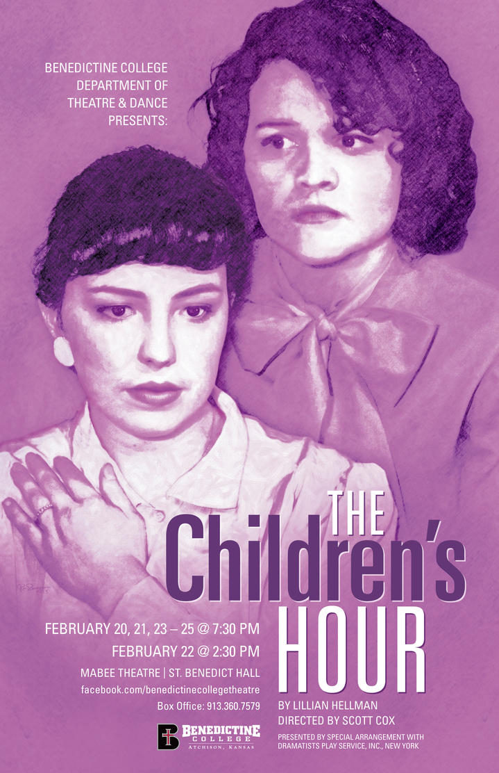 The Children's Hour Play Poster by BigGuido