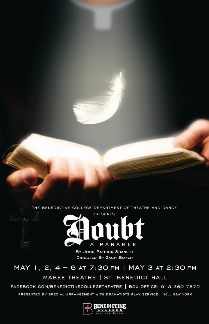 Doubt: A Parable Play Poster by BigGuido