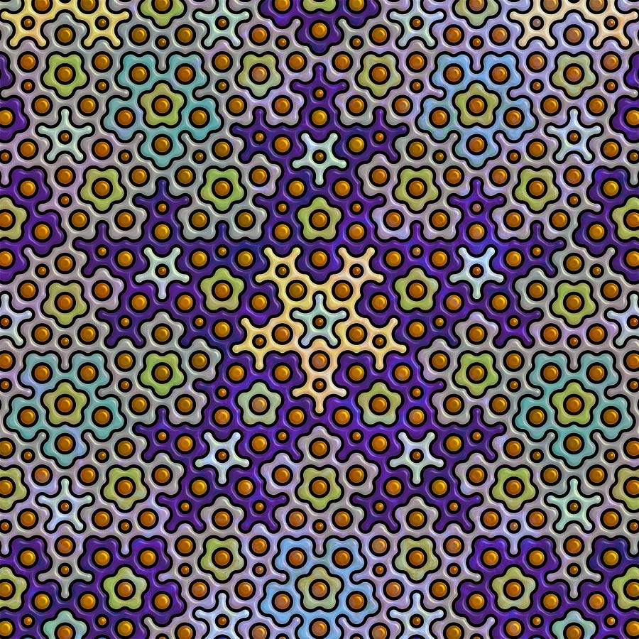 Penrose Tile 1 by parrotdolphin
