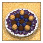 Penrose Dessert Plate by parrotdolphin