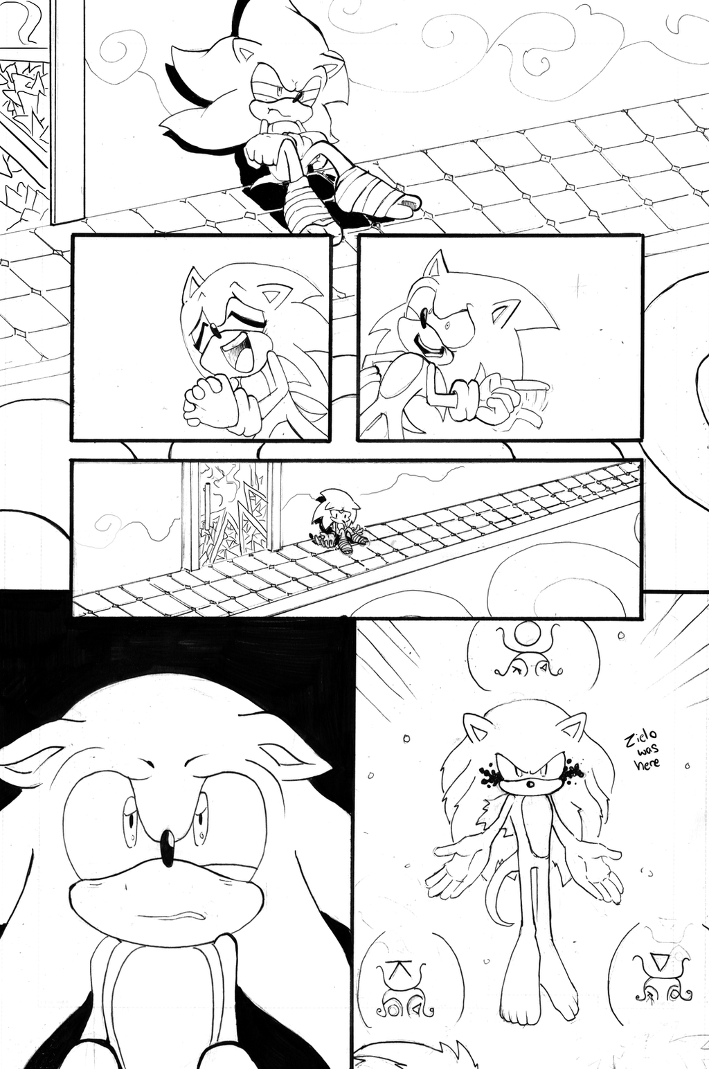 TMOM Issue 10 INKS by Gigi-D